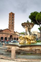 Fototapete - Basilica Santa Maria in Cosmedin - Roma - Italy