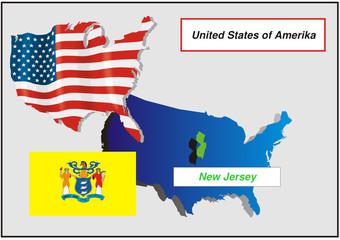 Vereinigte Staaten von Amerika - New Jersey