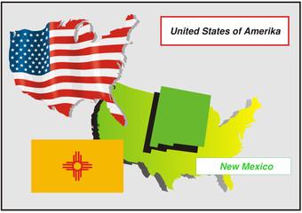 Vereinigte Staaten von Amerika - New Mexico