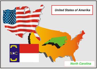 Vereinigte Staaten von Amerika - North Carolina