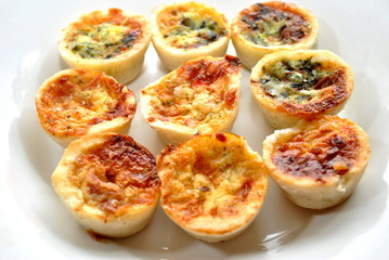 Spinach and Cheesey Mini Quiche