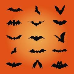 Halloween ~ Fledermaus ~ Fledermäuse - Megaset