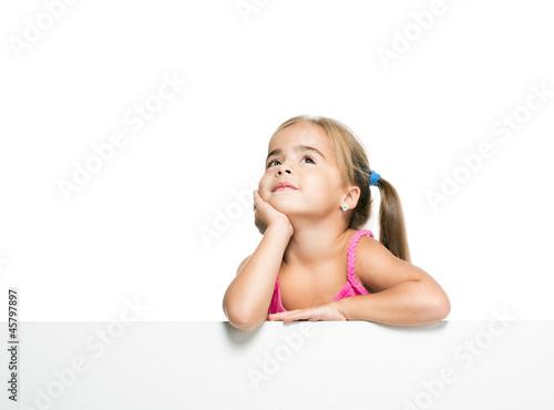 Картинка девочка мечтает