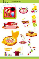 料理,和食,洋食,朝食,夕食,ランチ