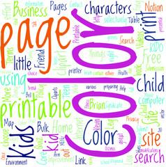 Kids Coloring Pages Color Concept