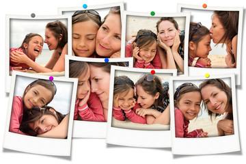 souvenirs de vacances entre mère et fille