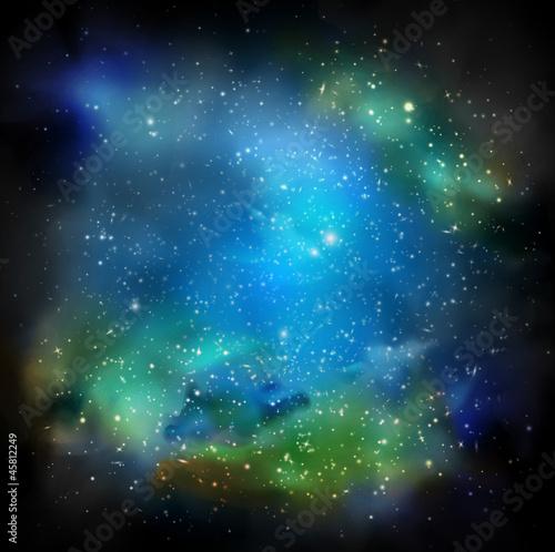 Sticker The Galaxy