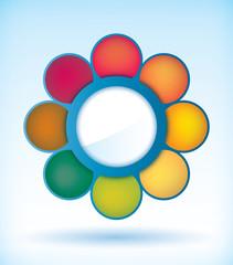 Flower presentation diagram