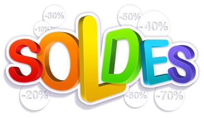 soldes maj - pourcentage