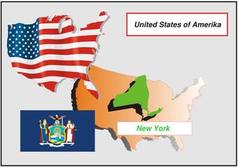 Vereinigte Staaten von Amerika - New York