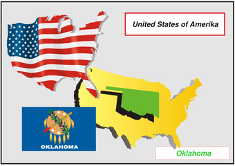 Vereinigte Staaten von Amerika -Oklahoma