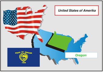 Vereinigte Staaten von Amerika - Oregon