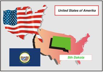 Vereinigte Staaten von Amerika - Sth Dakota