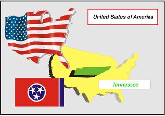 Vereinigte Staaten von Amerika - Tennessee