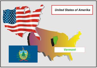Vereinigte Staaten von Amerika - Vermont