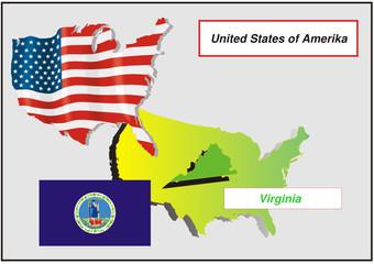 Vereinigte Staaten von Amerika - Virginia