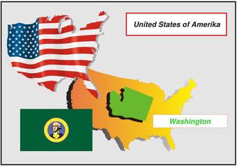 Vereinigte Staaten von Amerika - Washington