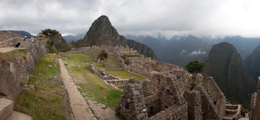 Views around Machu Picchu Inca ruins