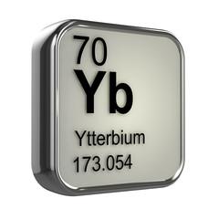 3d Periodic Table - 70 Ytterbium