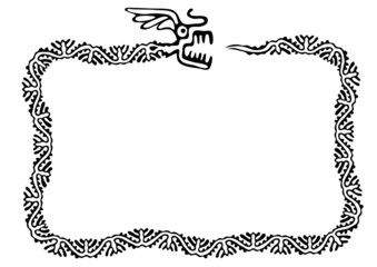 snake frame, vector design element