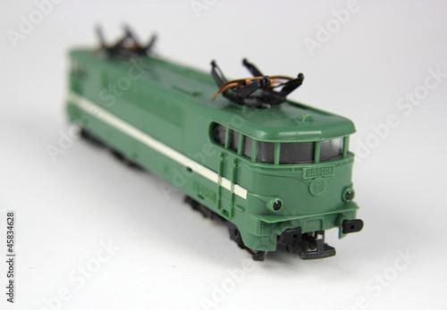 locomotive jouet train lectrique photo libre de. Black Bedroom Furniture Sets. Home Design Ideas