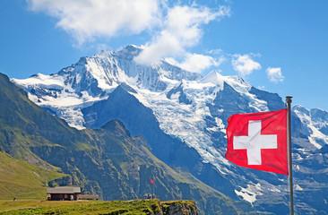 mount Jungfrau Wall mural