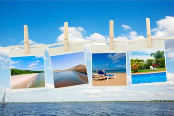 sea vacations concept