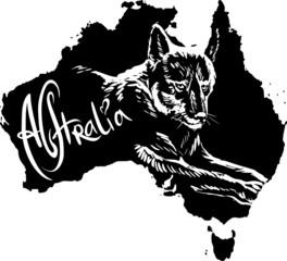 Dingo as Australian symbol