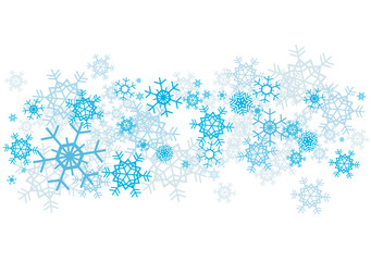Snow_flakes_background