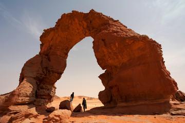 Wall Murals Algeria Nomads in desert