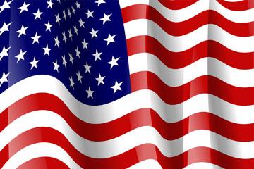 USA Flagge 3D