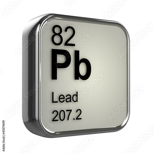 """3d Periodic Table - 82 Lead"" Stock photo and royalty-free ..."