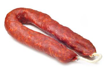 Chorizo de cerdo.