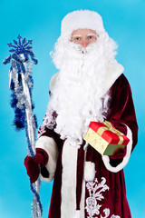 Santa Claus with stick