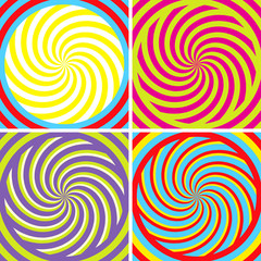 Tuinposter Psychedelic Illusion