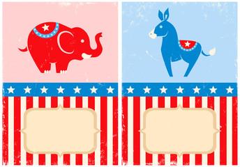 Symbols of American parties