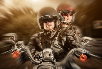 Fototapete - Bikers