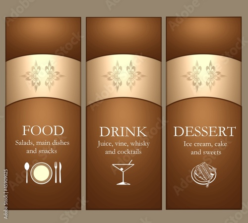 elegant menu template stock photo and royalty free images on