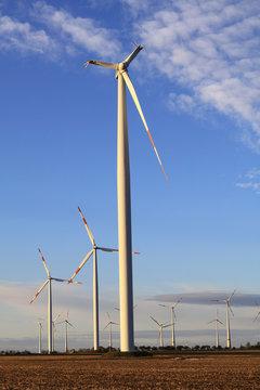 Die abgebrochenen Flügel eines Windkraftrades in Sachsen-Anhalt