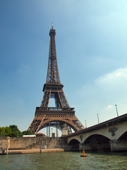 European cities - Paris objects - Eiffel tower