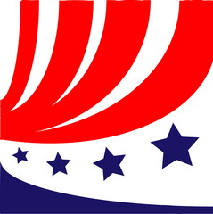Символ флага Америки
