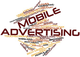 Word cloud for Mobile Advertising