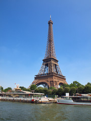European cities - Paris city - Eiffel tower