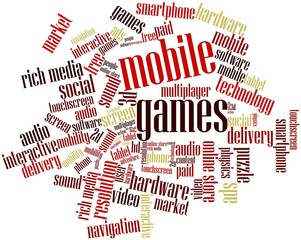 Word cloud for Mobile Games