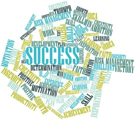 Word cloud for Success
