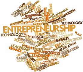 Word cloud for Entrepreneurship
