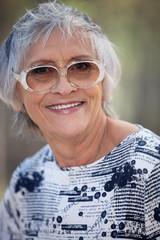 Portrait of elderly person