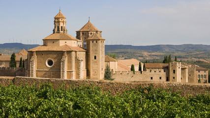 Fototapeta Monastic site of Poblet