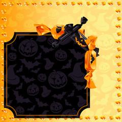 Fun Halloween candy banner