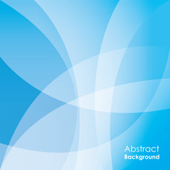 Abstract blue background, vector